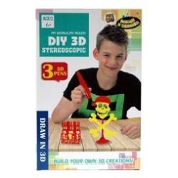 DŁUGOPIS 3D 3X PEN GLOW IN THE DARK