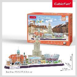 PUZZLE 3D CITYLINE WARSZAWA