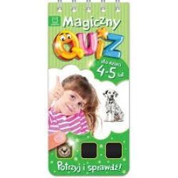 MAGICZNY QUIZ 4-5 LAT GREEN