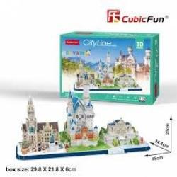 PUZZLE 3D CITY LINE BAVARIA