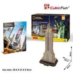 PUZZLE 3D NATIONAL GEO-EMPIRE STATE BULIDING