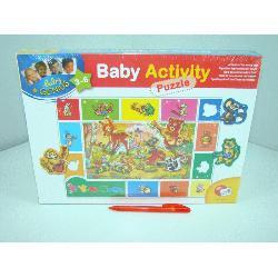 LISCIANI BABY ACTIVITY PUZZLE