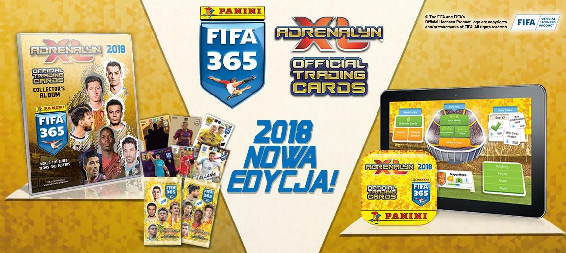 FIFA 365 18 Adrenalyn XL